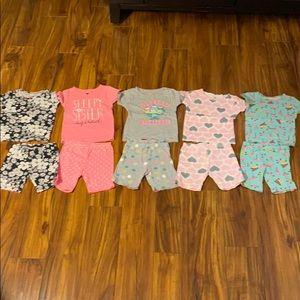 Carter's Pajamas Size 3T (5 Pairs)
